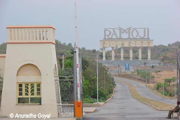 Entrance to the Ramoji Film City, Hyderabad