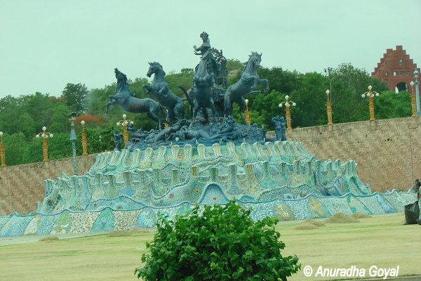 Open Air Sets at Ramoji Film City