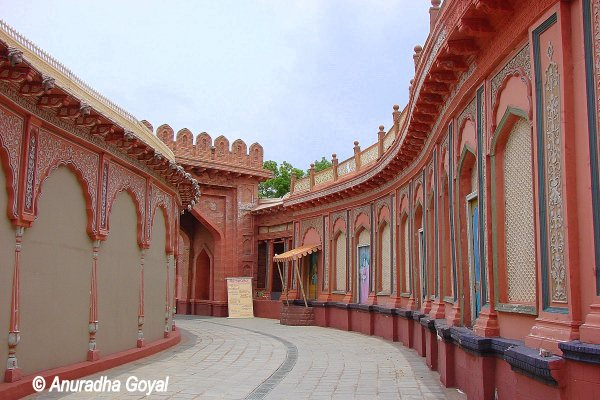 Walk-in Film Sets at Ramoji Film City