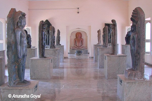 Jain Sculptures at the Museums in Public Gardens