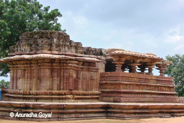 Heritage structure in the campus of Ramappa the Kakatiya temple