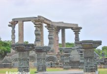 Remnants of Warangal Fort