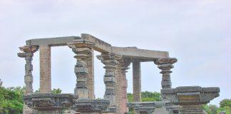 Remnants of Warangal Fort