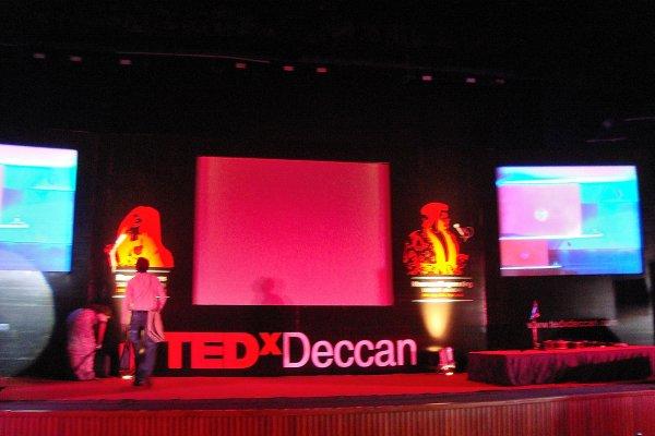 TEDex Deccan at Taramati Baradari, Hyderabad