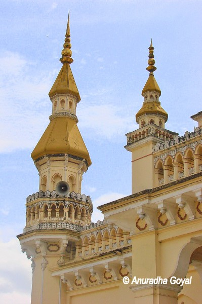 Minarets of Spanish Mosque