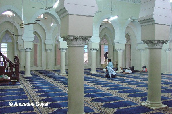 Prayer Hall at Spanish Mosque