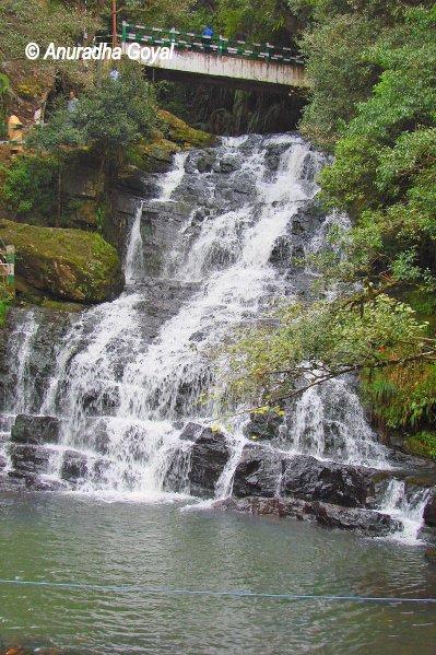 Elephant falls near Shillong