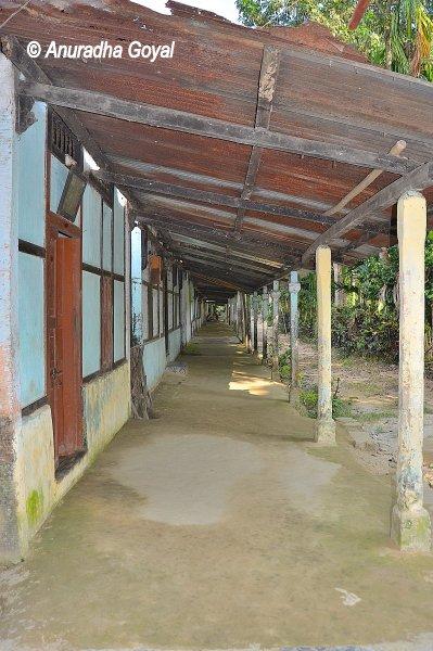 Satra or Ashram complex at Majuli