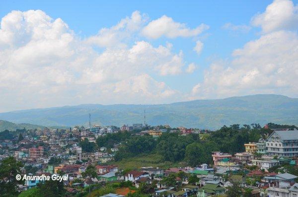 Shillong cityscape