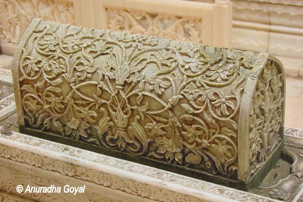 A tomb at Paigah Tombs