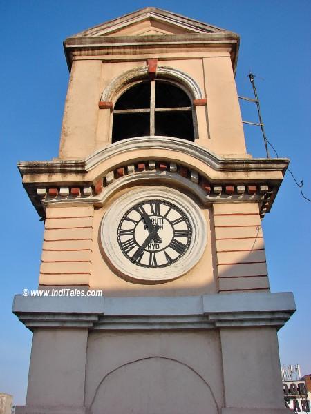 Clock on Ramgopalpet Police Station Tower, Ranigunj, Secunderabad