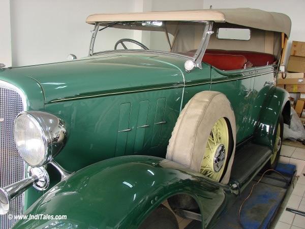 Rejuvenating a Vintage Rolls Royce, Secunderabad