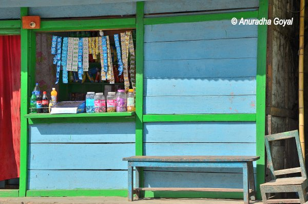 A typical shop at Arunachal Pradesh