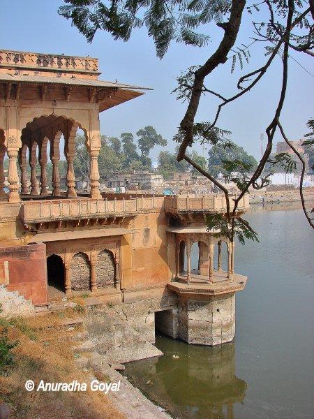 Gopal Sagar lake at Deeg Palace