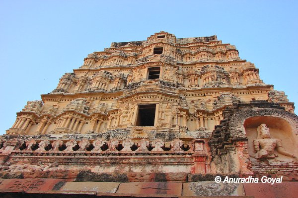 Virupaksha Temple at Hampi India