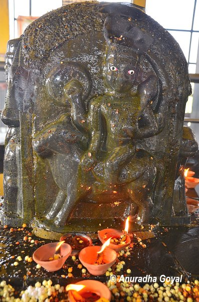Idol of Shani Dev at Braj Bhoomi