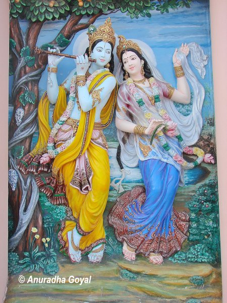Portrait of Radha Krishna at Braj Bhoomi