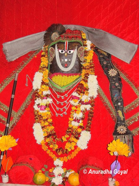 Sri Radha's idol at Braj Bhoomi Yatra