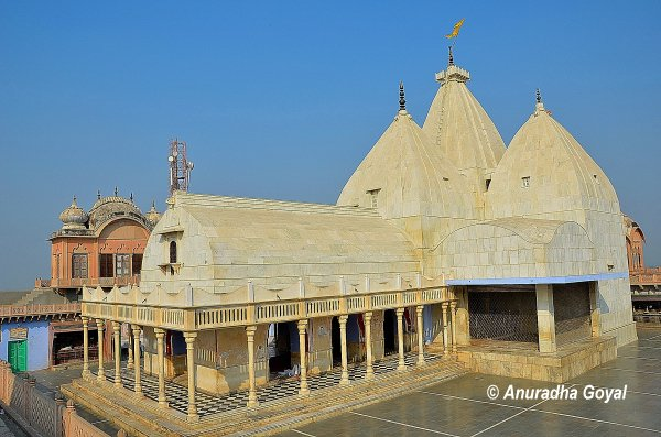 Temple dedicated to Nand, Yashoda & Balram at Nandgaon Braj Bhoomi