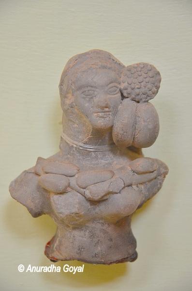 Terracotta sculpture at Mathura Museum
