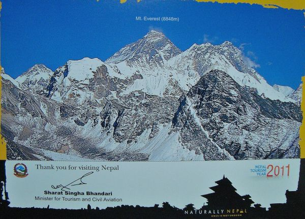 Graphics of Mount Everest
