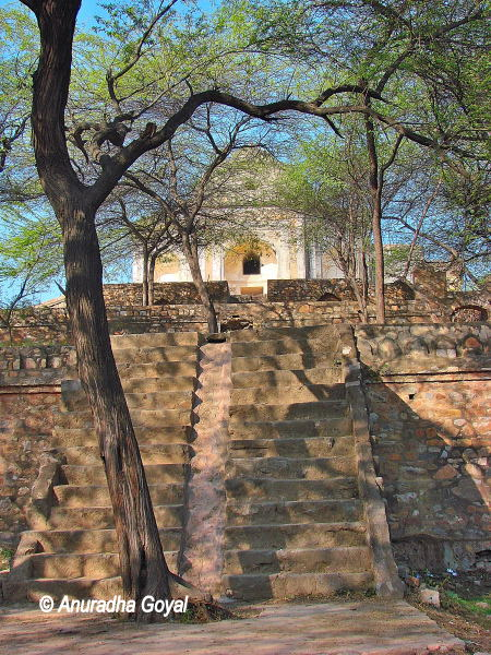 Metcalfe House, the retreat Dilkhusha at Mehrauli Archaeological Park