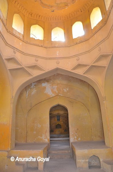 Building where last rites were performed at Qutub Shahi tombs complex