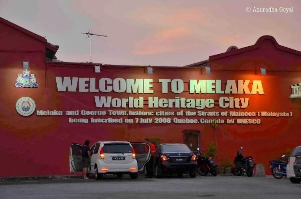 World Heritage City Melaka Malaysia