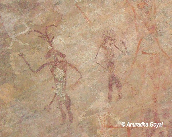 Depicting humans in the Cave Paintings