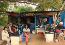 Dhaba that we took over at Pattadakal