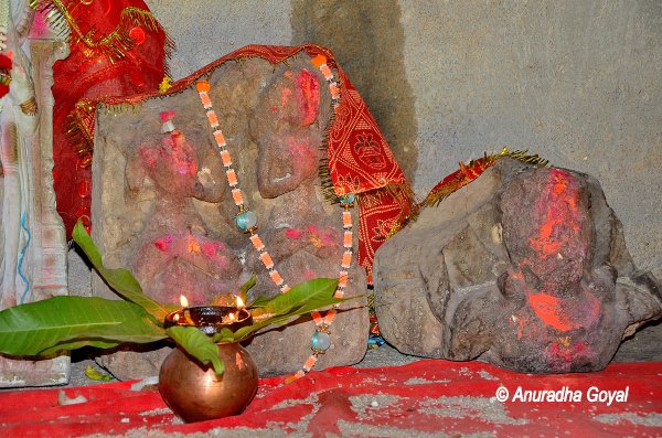 Idols still worshiped at Kalidasa Natyashala