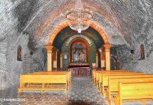 Chapel at Wieliczka Salt Mine, Krakow
