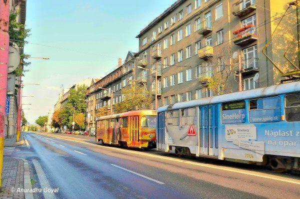 Streets of Bratislava, Slovakia