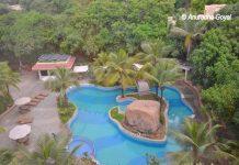 Swimming pool at ITC Kakatiya, Hyderabad