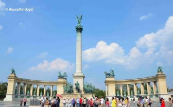 Heroes Square, Budapest