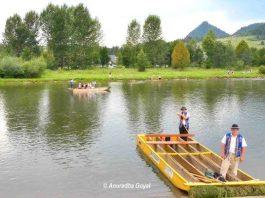 Vistula River in the Tatra Mountains