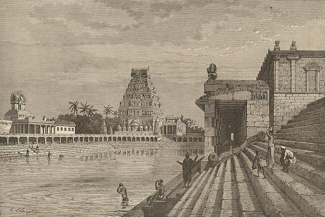 Old Image of Chidambaram Temple