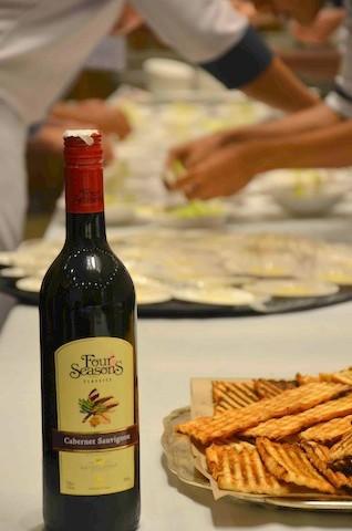 Four Seasons Bouvet-Ladubay celebrations with Chef Baptiste