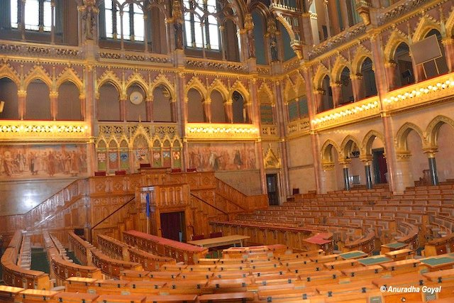 Parliament of Hungary Assembly Hall