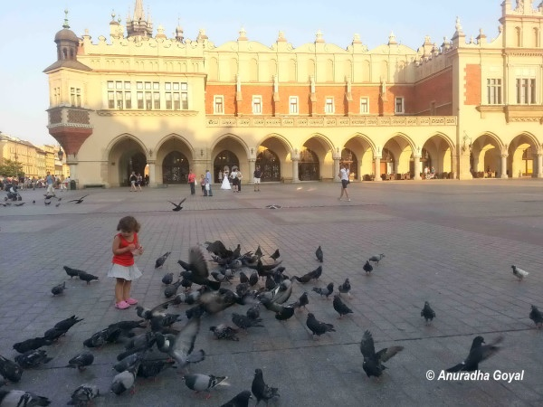 Krakow Old Town Market Square