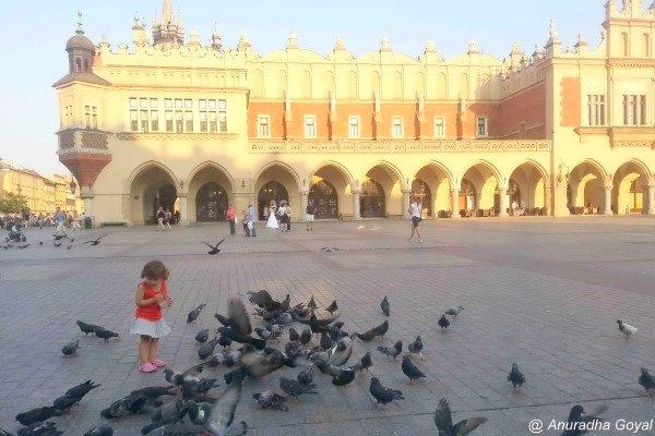 Krakow Old Town Market Square