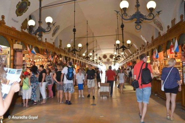 Krakow Old Town Market