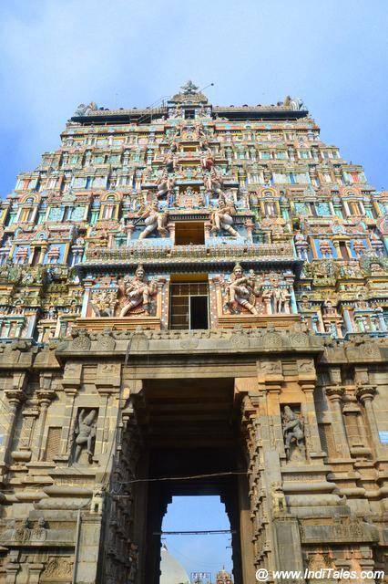 Thillai Nataraja Temple Gopuram
