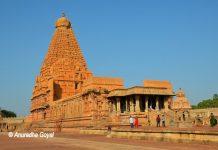 Brihadeeswara Temple, popularly called the Big Temple or Thanjavur Temple