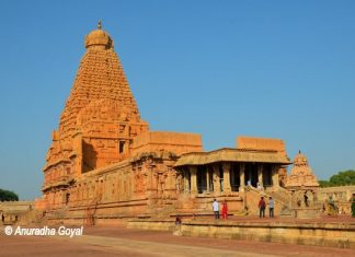Brihadeeswara Temple, popularly called the Big Temple or Thanjavur Temple
