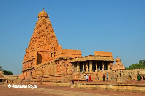 Brihadeeswara Temple popularly called the Big Temple or Thanjavur Temple