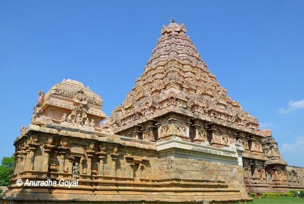 Brihadeeswarar Temple, Gangaikonda Cholapuram