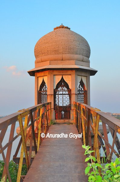 Heritage Water Pump House at Fox Sagar Lake, Hyderabad