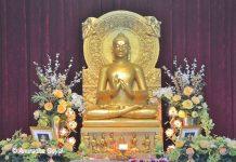 Buddha in Dharam Chakra Parvartana Mudra at Sarnath