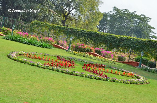 Garden at Rashtrapati Nilayam